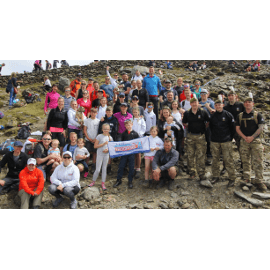 Snowdon Trek raises over £10,000