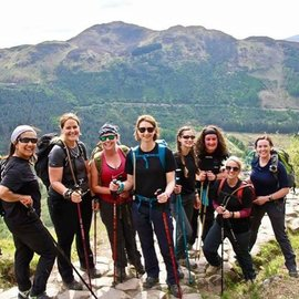 Military wives complete three peaks for Little Troopers