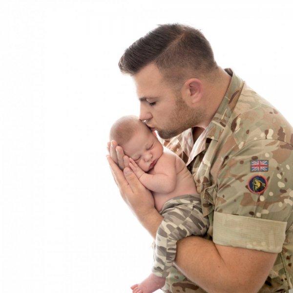 Military Moments calendar winner, Jasper