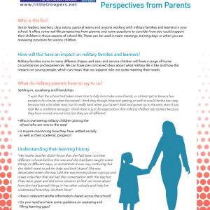 Parents Perspective