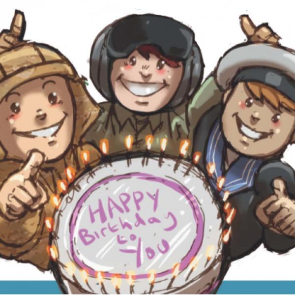 birthday image for socials
