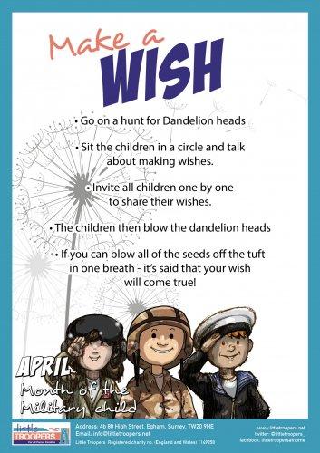 make a wish a4